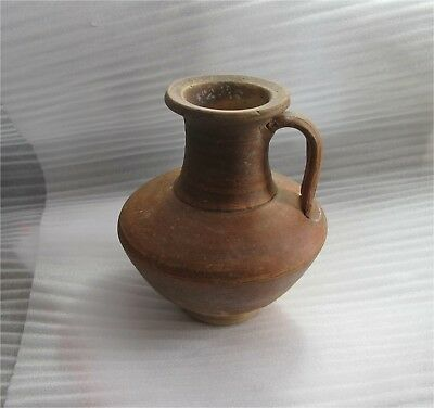 Roman Imperial Pottery Redware Terracotta Flagon Jug Black Sea Antique