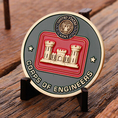 U.S. Army Corps of Engineers Challenge Coin Essayons USACE