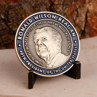 Ronald Reagan Marine Corps Quote Challenge Coin USMC