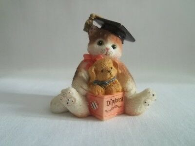 Enesco Calico Kittens Mini Diploma 1995 167347