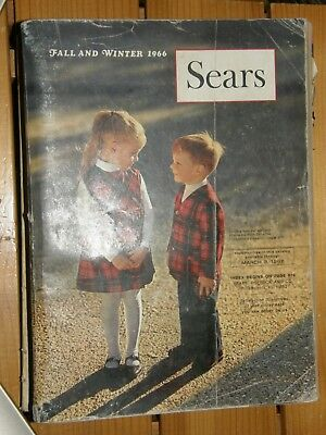 Vintage Sears Catalog Fall & Winter 1966 Philadelphia, PA