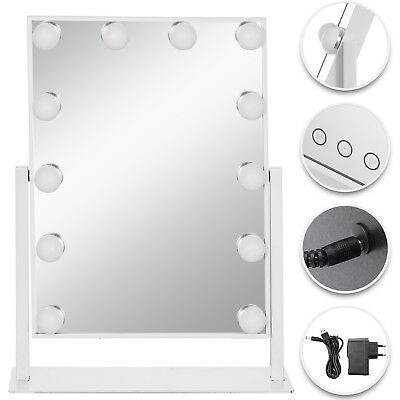 Beautify Lighted Makeup Vanity Mirror with 14x LED Dimmer Lights Hollywood Style