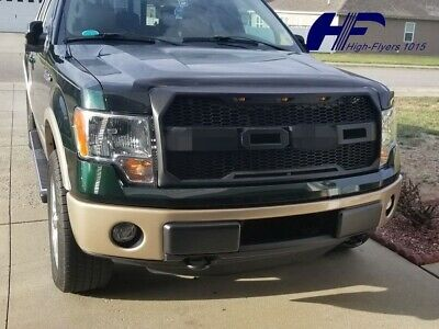 For 2009 2014 Ford F150 Front Grill Raptor Style Conversion F R W