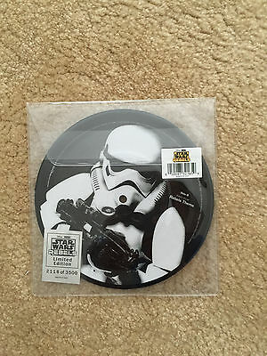"""Disney D23 Star Wars Rebels Theme 7"""" Picture Vinyl Disc Limited Edition 3500"""