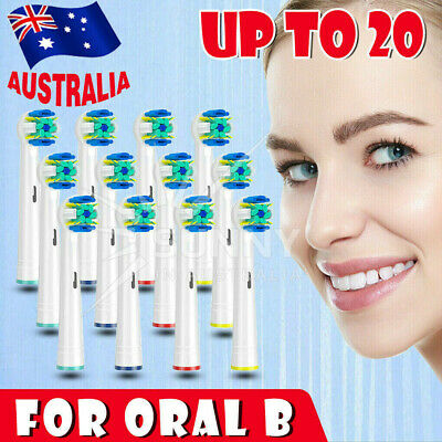 FLOSS ACTION Oral B Compatible Electric Toothbrush Replacement Brush Heads