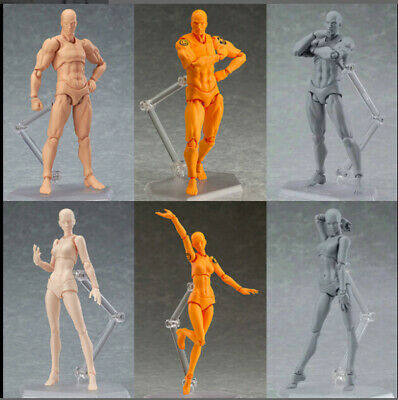 2.0 Male/Female Action Archetype Figure Body Toy Arts Anime Model Drawing US