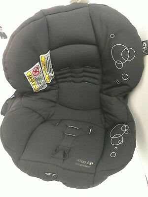 Maxi Cosi Mico AP Infant Baby Car Seat Black Fabric Cover Cushion Replacement