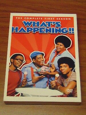 What's Happening!! The Complete First Season DVD 3-Disc Set