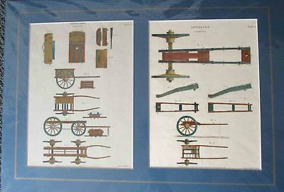 Artillery carriages. 1808.