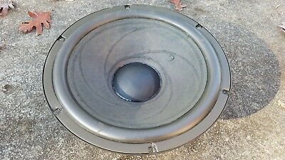 Realistic Mach 1 One 8 Ohm Woofer, From 4024 Model Working Condition, Foam Ok