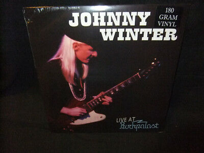 Johnny Winter Live Rockpalast 1979 Sealed New Vinyl LP Record Album