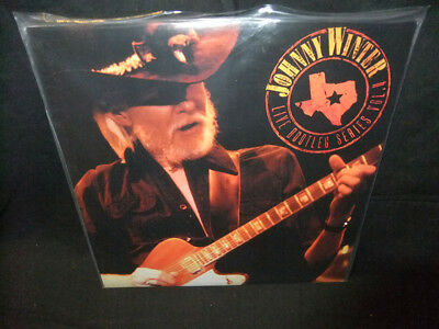 Johnny Winter Live Bootleg Series Vol. 4 Sealed New Friday's Music Vinyl LP
