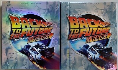 Back To The Future Trilogy Blu Ray Digibook 3 Disc Set + Slipcover Sleeve Buy It