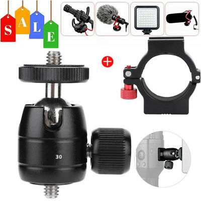 Mini Ball Head + Camera Adapter Ring Mount for Zhiyun Smooth 4 Stabilizer Gimbal
