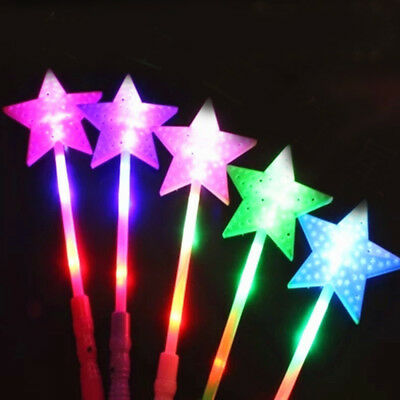 Star LED Light Sticks Flashing Battery-powered Festivals Party Decor Kids Toy