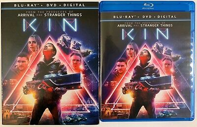 Kin Blu Ray Dvd 2 Disc Set + Slipcover Sleeve Free Shipping Action Dennis Quaid