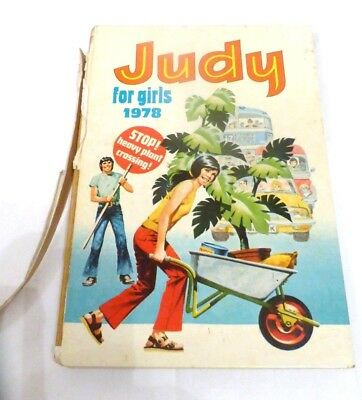 Judy For Girls Vintage UK Comic Annual 1978