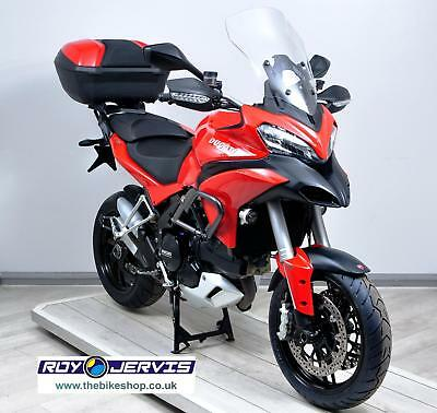 2015 (64) Ducati Multistrada 1200S TOURING Red 1 Owner Luggage UNDER 3000 MILES