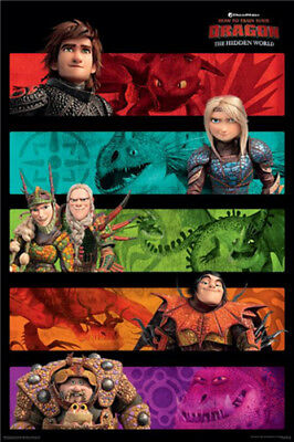How To Train Your Dragon 3 - Panels - Movie Poster #3A
