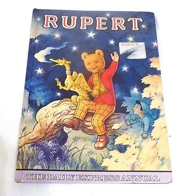 Rupert the Daily Express Annual. Christmas edition