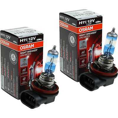 2x Osram H11 12V 55W PGj19-2 Night Breaker UNLIMITED +110%
