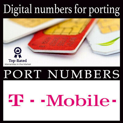 Phone numbers | Numbers to Port | T-Mobile | Area Code | 100% Fast