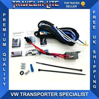 VW T5.1 Fog Light Harness Relay & Fixings Only 03-09 Transporter Brand New