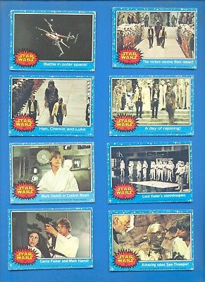 Star Wars.43 Cards Issued By Topps Gum In 1978.
