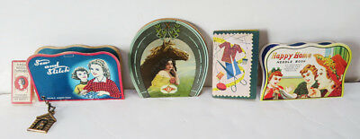 Group of Vintage Sewing Needle Cards