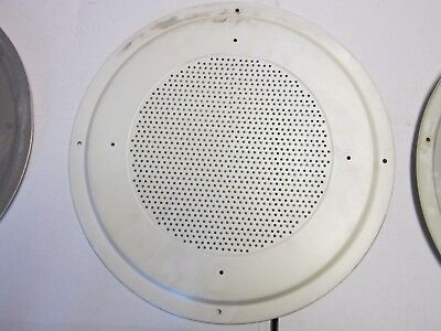 "7 Vintage Antique  16.5"" Round Aluminum  Vent Made in USA"