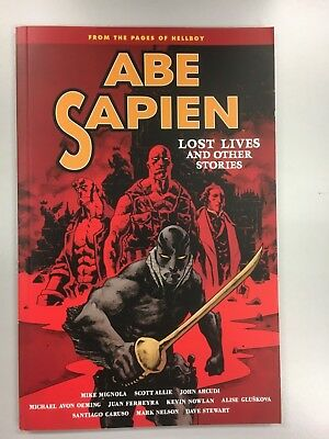 Dark Horse Books - Abe Sapien - Lost Lives and Other Stories Vol 9  BN - Graphic