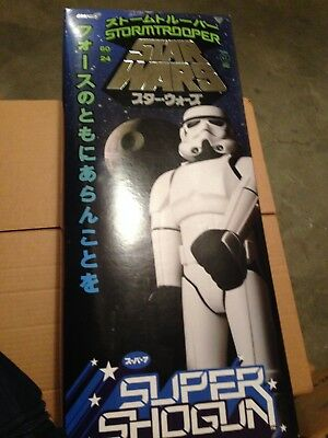 "SUPER 7 STAR WARS Shogun Storm Trooper 24"" figure (NON-MINT Box)"