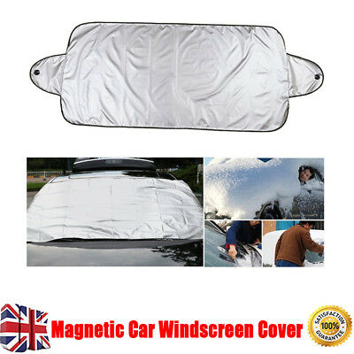 Universal Car Windscreen Cover Ice Frost Shield Snow Protector Sun Shade Van New