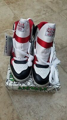 premium selection 7ac07 1fdec 1989 Airwalk Prototype 600F Torch Vintage Skate hi-top Shoe red black white  RARE