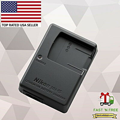 New Nikon Battery Charger MH-65 for Nikon Coolpix