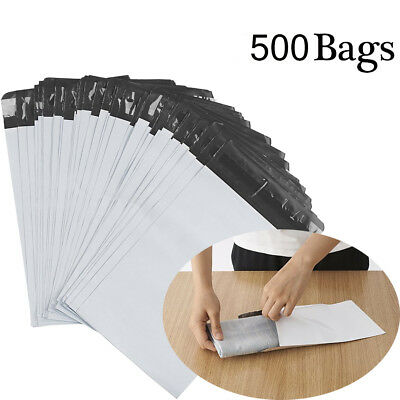 500 Poly Mailers 6x9 Shipping Envelopes Self Sealing Plastic Packing Mailing Bag