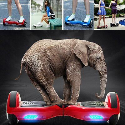 "6,5"" Hoverboard électrique Trottinette scooters planche roulettes overboard FR"