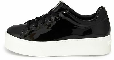 4a6a333b7a1 NEW 39 Kenzo Womens Fashion Sneakers Shoes Platform Low-top Patent Leather  Black