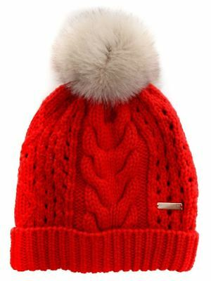 Woolrich Donna Cappello WWACC1405 AC93 5455 Rosso Autunno Inverno TREND 4072bad28ba8