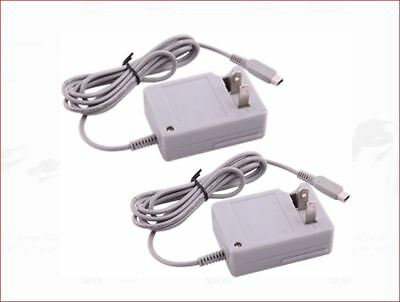 AC Home Wall Travel Charger Power Adapter Cord Nintendo DSi 3DS XL 3DS 2DS 2pack