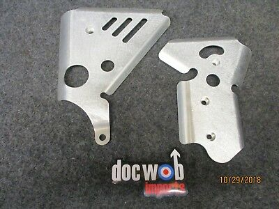 Honda CR250 1990 New Doc Wob Superlite alloy frame guard set CR4148
