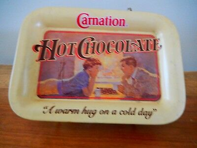 """Carnation tray """"a warm hug on a cold day"""""""