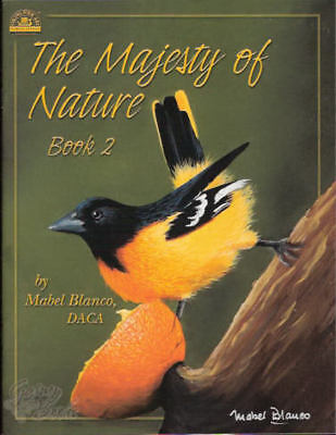 The Majesty of Nature Vol. 2 Mabel Blanco Painting Book NEW Animals