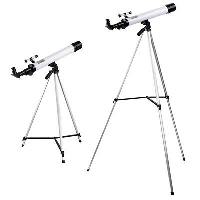 50mm Astronomical Refractor Telescope Refractive Eyepieces Tripod Travell