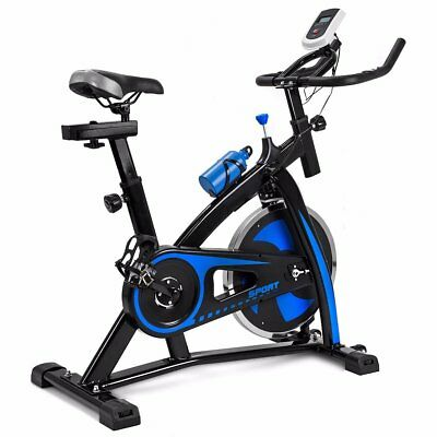 Blue Bicycle Cycling Fitness Exercise Stationary Bike Cardio Home Indoor 868 ZK