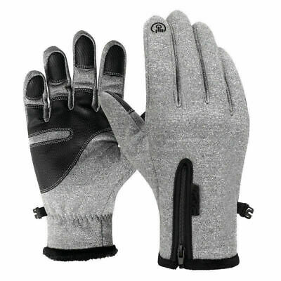 Touch Screen Ski Gloves Unisex Warm Winter Outdoor Riding Windproof Waterproof