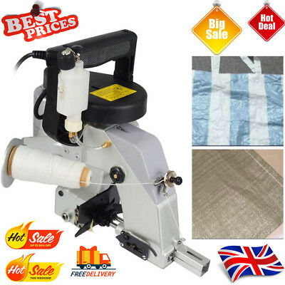 GK26-1A Industrial Portable Bag Closer Stitching Sewing Machine 220V