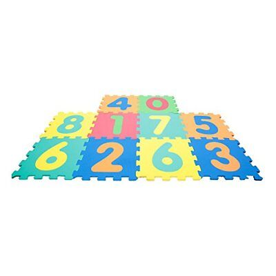 Mamatoy MMA36000 - Mamababy Tappeto Puzzle 123, Tappetini 32 x 32 cm, (M2V)