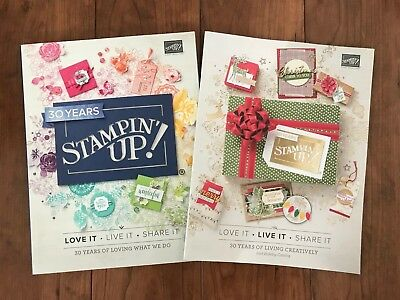 2018-19 STAMPIN' UP! Annual Catalog + Holiday Catalog