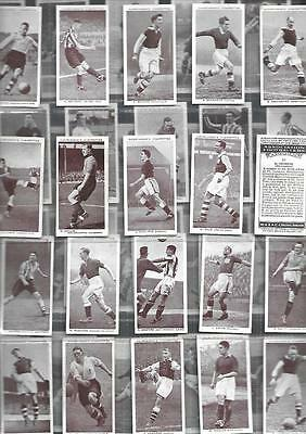 Full  Set 50  Association Footballers Churchman 80Yr Cigarette Cards
